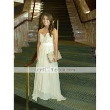 light in the box wedding dress reviews sheath column v neck strapless floor length chiffon prom formal