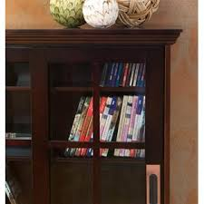 Media Cabinet With Sliding Doors Southern Enterprise Sliding Door Media Cabinet Espresso
