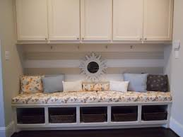 living room incredible window seat design with wall
