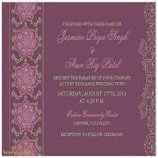 Indian Wedding Invite Wedding Invitation Best Of Simple Indian Wedding Invitation
