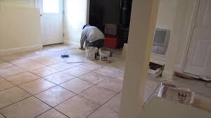 how to tile a basement floor basements ideas