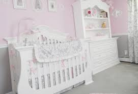pink and gray crib bedding sets baby nursery