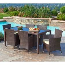 Dining Chairs With Cushions Kohala 7 Piece Dining Set With Cushions U0026 Reviews Allmodern