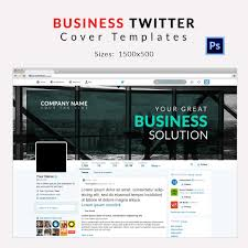 9 twitter cover templates business travel fashion free