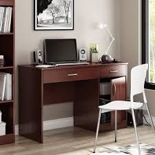 South Shore Axess Small Desk South Shore Axess Small Computer Desk In Royal Cherry 7246070