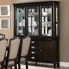 Buffet With Hutch Furniture Homelegance Marston Dining Buffet W Hutch Wayside Furniture