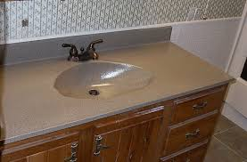 Bathroom Vanity Countertops Ideas Installing Cultured Marble Countertops U2013 Home Design And Decor