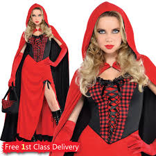 little red riding hood halloween costumes ladies little red riding hood fancy dress storybook