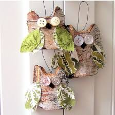 how to make rustic tree ornaments diy amazing