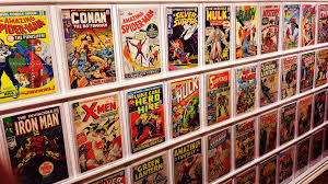 my awesome comic book display youtube