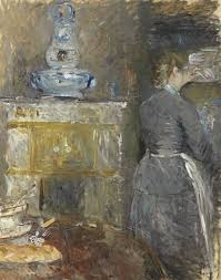 Best BERTHE MORISOT IMPRESIONISMO Images On Pinterest - Berthe morisot in the dining room