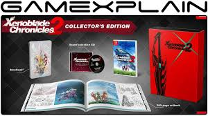 collector s xenoblade chronicles 2 collector s edition unboxing youtube