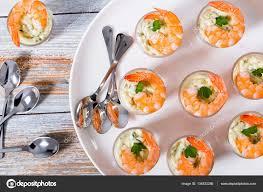 shot glass shrimp with tartar sauce easy cocktail recipe for