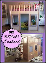 Playhouse Bunk Bed Rooms How To Organize Your Bedroom Diy House Bed
