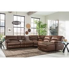 Sectional Sofa Leather Furniture Sofa 6 Leather Sectional Sofa Cooper 6 Leather
