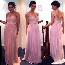 purple lace bridesmaid dress 2 styles beaded lace bridesmaid dresses ivory pink