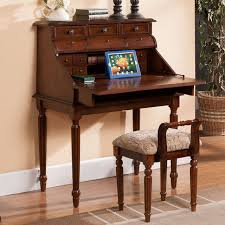 Small Apartment Desks American Continental Desk Folding Computer Solid Wood Bedroom