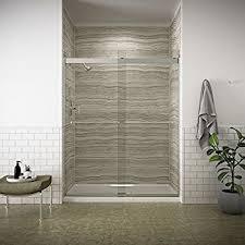 Bypass Shower Door Kohler K 706009 L Sh Levity Bypass Shower Door With Handle And 1 4