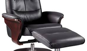 Leather Swivel Recliner Milano Leather Swivel Recliner And Ottoman Modern Recliner