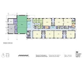 school floor plan pdf efa baseline school designs primary type 2 digital education