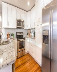 Polymer Kitchen Cabinets White Shaker Cabinets 10x10 Rta Elite White Shaker Cabinets By