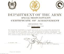 army certificate of appreciation free wedding card template best