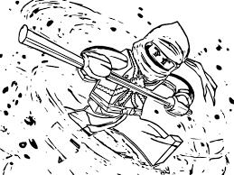 cartoon network ninjago master spinjitzu coloring