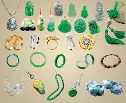 the various jade ornaments jewelry psd summary free psd in