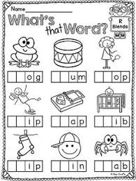 letter blends worksheets worksheets