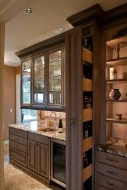 Unique Bar Cabinets Hidden Liquor Cabinet Kitchen Traditional With Award Winning Bar