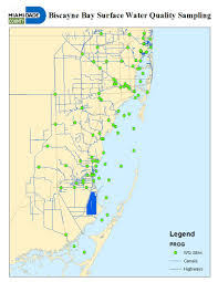 Florida Aquifer Map by Surface Water Quality Miami Dade County