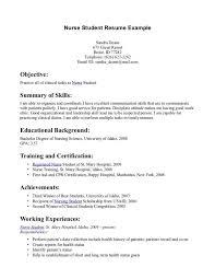 Lvn Skills Resume Lpn Student Resume Eliolera Com