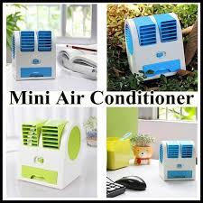Desk Top Air Conditioner Aliexpress Com Buy Ultra Quiet Portable Mini Usb Cooler Double