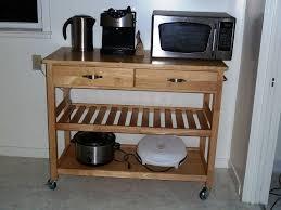 Microwave Cart With Wheels Rolling Cart Ikea Zamp Co