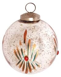 glass bauble hanging in silver golden u0026 more colors u2013 5 u201d tree