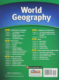 world geography student edition survey 2012 holt mcdougal