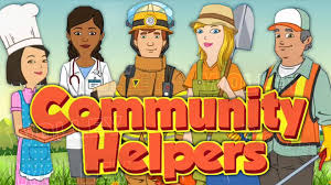 kids learn new words about community helpers such as doctor