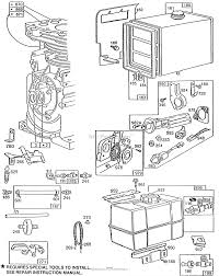 briggs and stratton 190432 2683 01 parts diagram for fuel tank