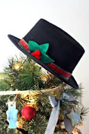 hat tree topper lights decoration