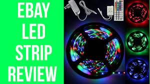 Ebay String Lights by Ebay Led Strip Lights Full Review Youtube