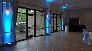 Home And Decor Flooring All White Led Dance Floor Lighting And Led Uplights At Botanic