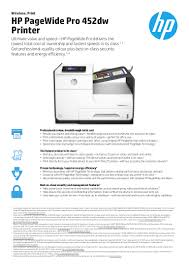 brosur printer hp pagewide pro 452dw d3 q16a