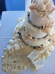 beachy wedding cakes beachy baked goods seashore wedding cakes