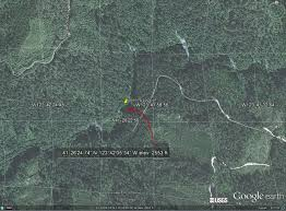 Bigfoot Sightings Map Bigfoot U0027s Blog Gps Coordinates For The Bluff Creek Patterson