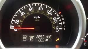 how to reset the maintenance light on honda ridgeline service