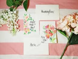 Diy Mother S Day Card by Diy And A Free Printable Mother U0027s Day Card