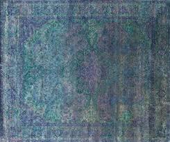 Aqua Silk Rugs Plumsiena Magic Carpets