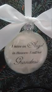 memorial ornament in memory of nana at
