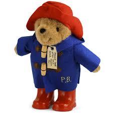 paddington paddington bear rainy toy 22cm peter u0027s