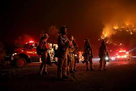 Wildfire Burning Near Me by Wildfires Ravage The West Coast Photos Abc News